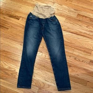 AG Jeans from A pea in the pod skinny crop ankle